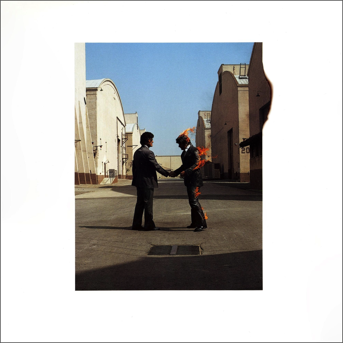 an analysis of wish you were here Wish you were here, like the record that precedes it, is a concept albumrevolving around the central theme of absence, waters' lyrics illustrate the difference between the group's early years – when pink floyd was a band of brothers, making music for a small but devoted audience – and the present.
