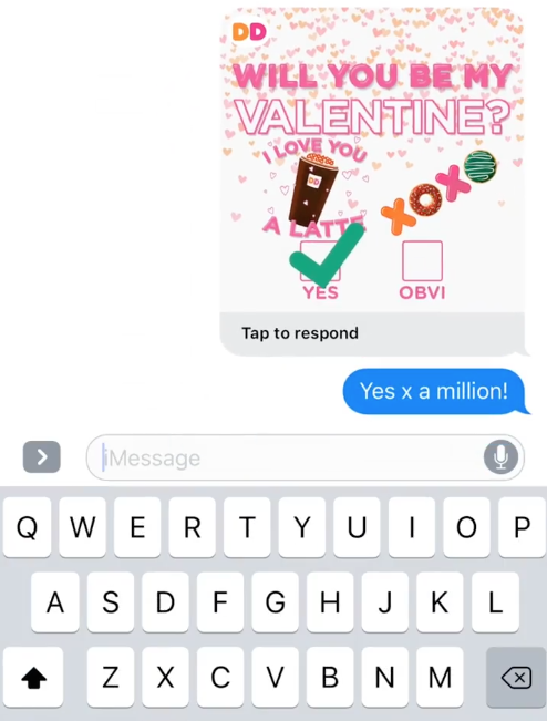 Love Me Message Me – Virtual Valentines Day Cards